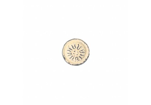 "French Kitchen Collection VK3C French Kitchen Collection ""Vintage"" Knob, Ivory Yellow"