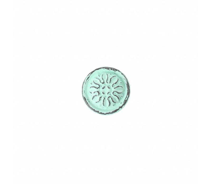 """French Kitchen Collection """"Vintage"""" Knob, Mint Green"""