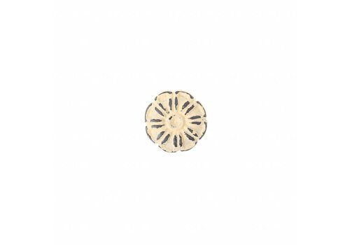 "French Kitchen Collection French Kitchen Collection ""Vintage"" Knob, Ivory Yellow"
