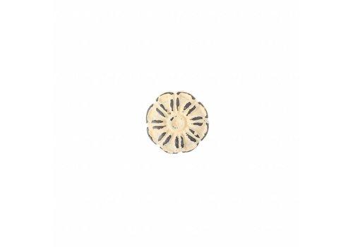 French Kitchen Collection VK1C Vintage Deurknop IJzer, Crème