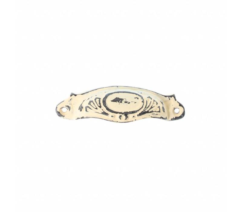 """French Kitchen Collection """"Vintage"""" Handle, Ivory Yellow"""