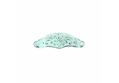 """French Kitchen Collection VG2M French Kitchen Collection """"Vintage"""" Handle, Mint Green"""