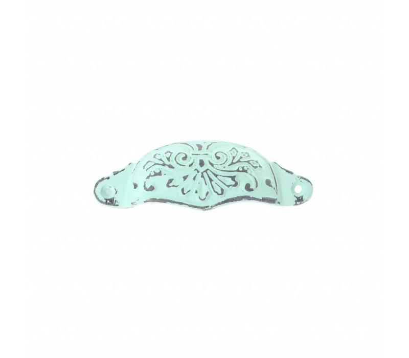 """French Kitchen Collection """"Vintage"""" Handle, Mint Green"""