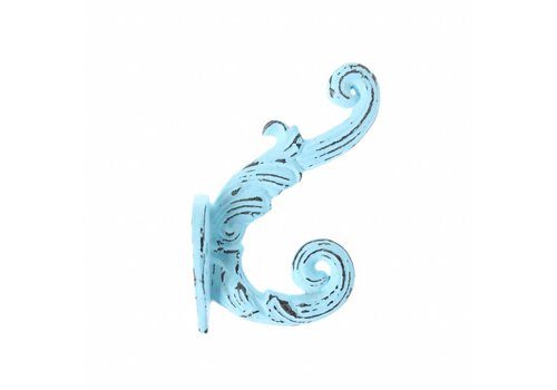 "French Kitchen Collection French Kitchen Collection ""Vintage"" Hook, Blue"