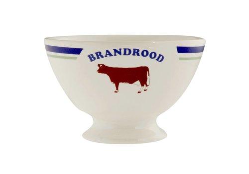 Kom Amsterdam Bowl Brandrood No.4 ø13xH8 cm Cows