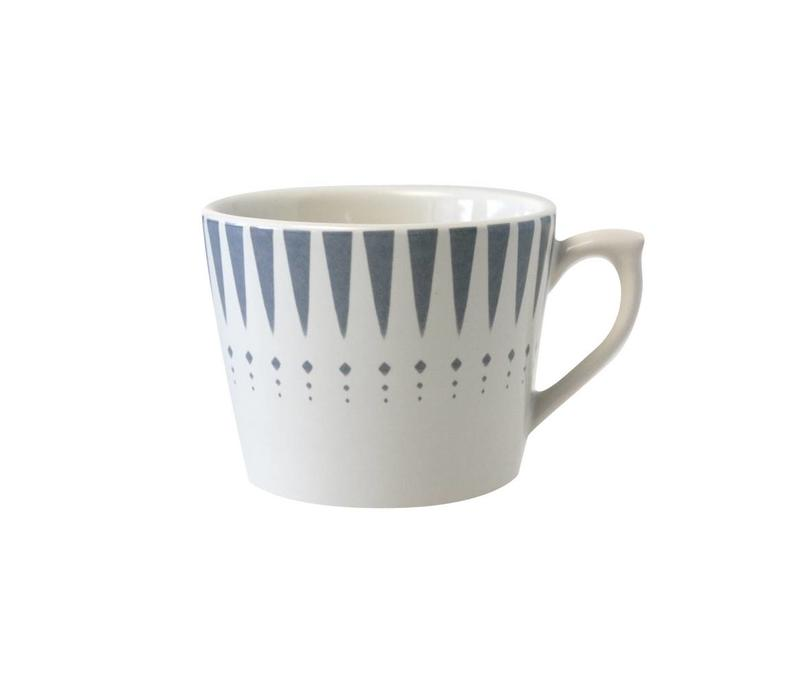 Dépôt d'Argonne Cappuccino Cup Arlequin, Grey
