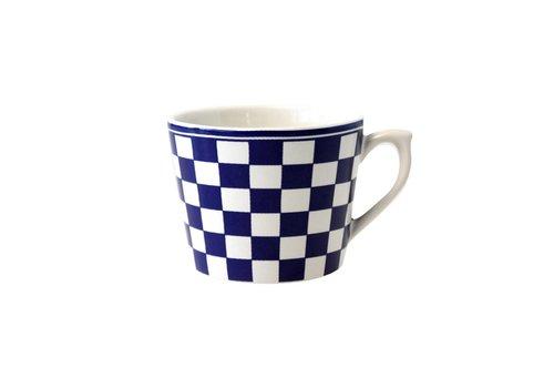 Dépôt d'Argonne Dépôt d'Argonne Cappuccino Cup Damier, Blue