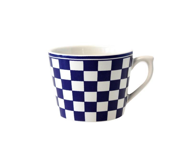 Dépôt d'Argonne Cappuccino Cup Damier, Blue