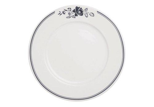 Dépôt d'Argonne Dépôt d'Argonne Dinner Plate 27cm Rose, Grey