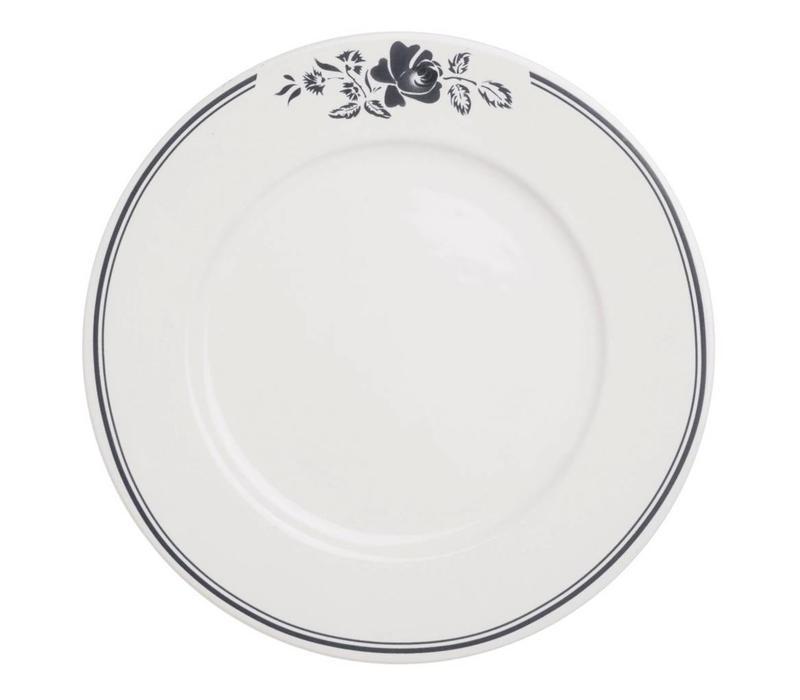 Dépôt d'Argonne Dinner Plate 27cm Rose, Grey