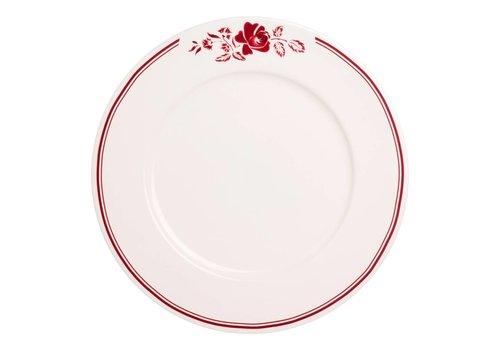 Dépôt d'Argonne Dépôt d'Argonne Dinner Plate 27cm Rose, Red