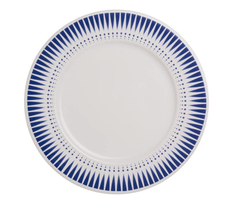 Dépôt d'Argonne Dinner Plate 27cm Arlequin, Blue