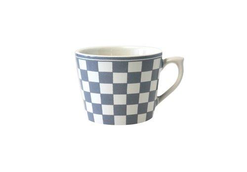 Dépôt d'Argonne Dépôt d'Argonne Cappuccino Cup Damier, Grey