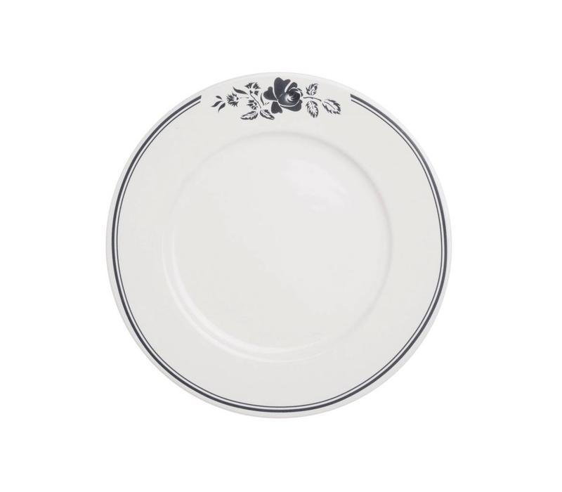 Dépôt d'Argonne Breakfast Plate 23cm Rose, Grey