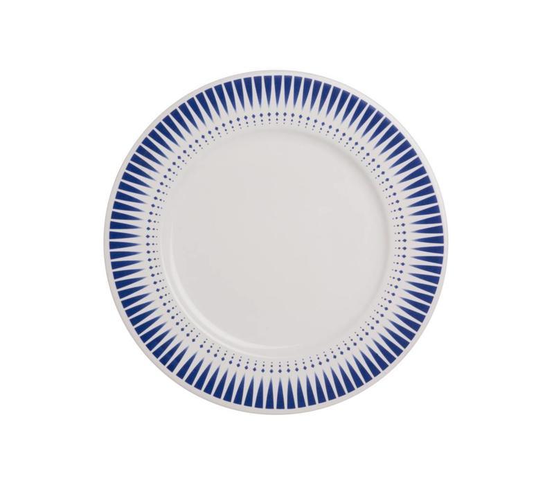 Dépôt d'Argonne Breakfast Plate 23cm Arlequin, Blue