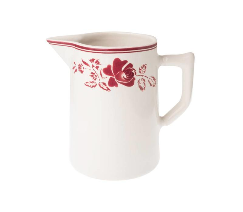 Dépôt d'Argonne Pitcher 1L Rose, Red