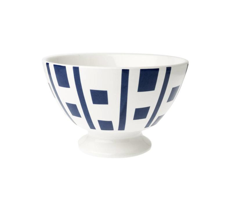 Bowl Medium ø13xH8 cm Carré Blue Depot d'argonne