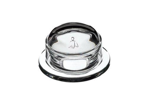 Kom Amsterdam Botervloot glas ø9,5xH6 cm glas Honingbij