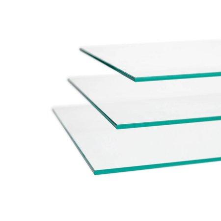 Vitrinekast LED 100 aluminium 100x40x200 cm