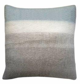 Light grey mohair cushion  (1 March)