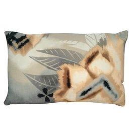 Desert flower cushion peach pink