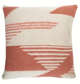 Nomad mahogany pink cushion