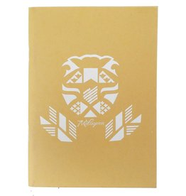 Lion yellow notebook
