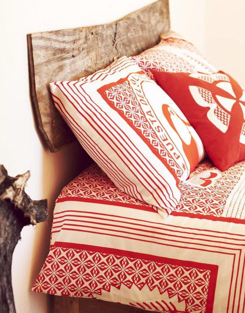 quilt range cover product bedding set linens red printed cream jewel duvet