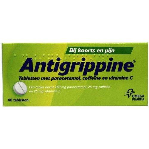 Antigrippine Antigrippine Antigrippine 250 mg (40tb)