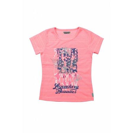 Meisjes T-shirt positive vibes
