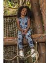 Meisjes jumpsuit positive vibes met stippen | DJ DUTCHJEANS