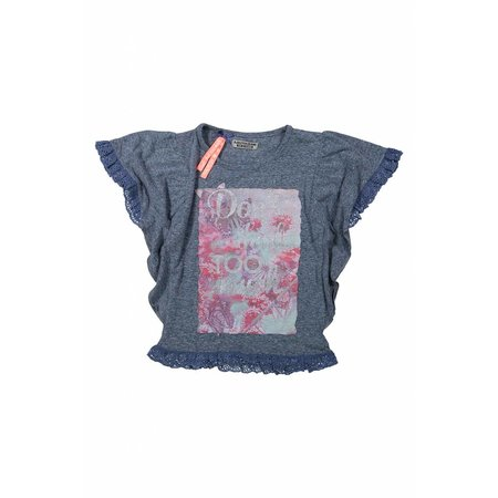 Meisjes T-shirt don't think too much