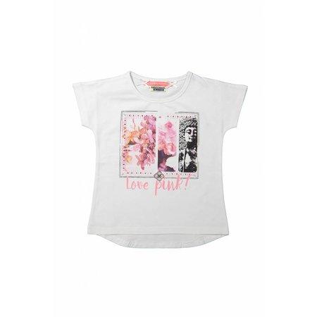 Meisjes T-shirt love pink