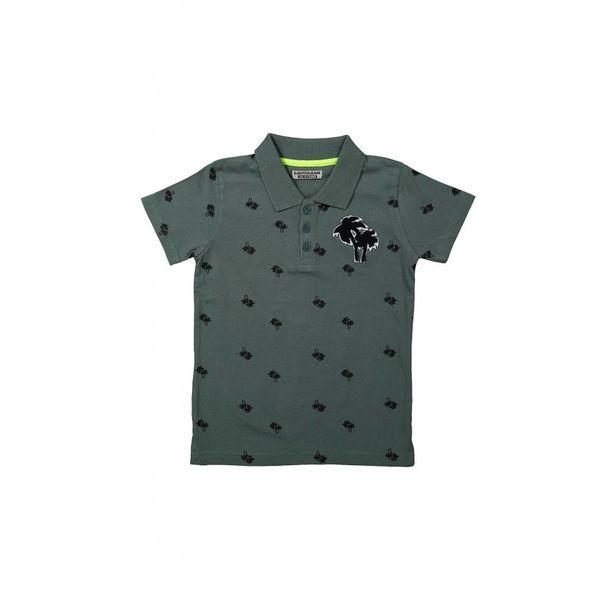 Jongens polo shirt sunset beach met patches | DJ DUTCHJEANS