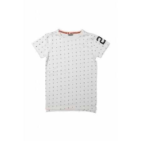 Jongens T-shirt extra lang face the track