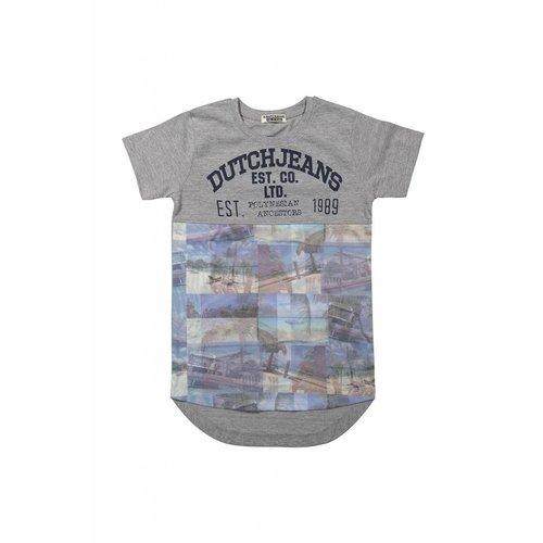 Jongens T-shirt extra lang dutchjeans on aruba
