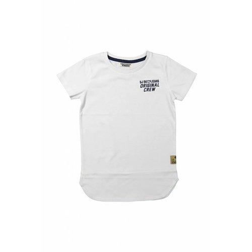 Boys T-shirt extra long never hold back