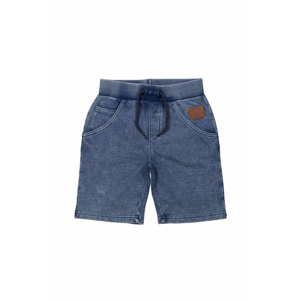 Jongens jogging short never hold back indigo | DJ DUTCHJEANS