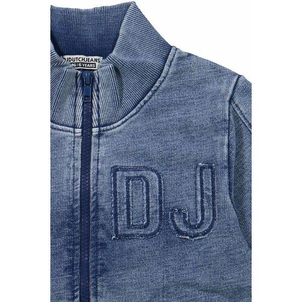 Jongens vest never hold back indigo met rits | DJ DUTCHJEANS
