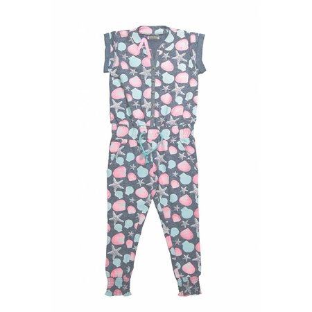 Meisjes jumpsuit don't think too much
