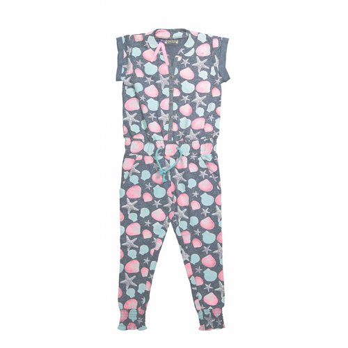 Girls jumpsuit don't think too much