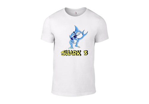 Barium Shark 3 T-Shirt (Wit)