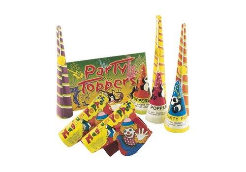 Lesli Vuurwerk Party Toppers (Pakket)