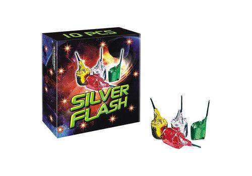 Broekhoff Vuurwerk Silver Flash (10st)
