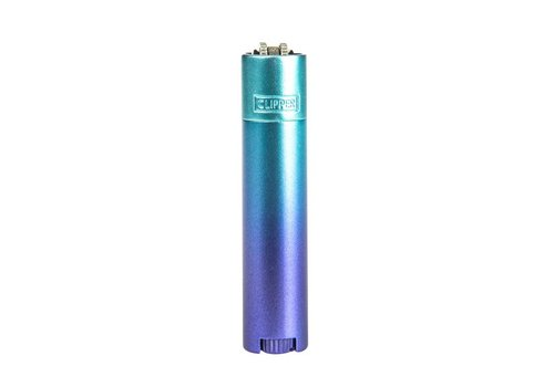 Clipper Clipper Metal Blue Gradient Aansteker