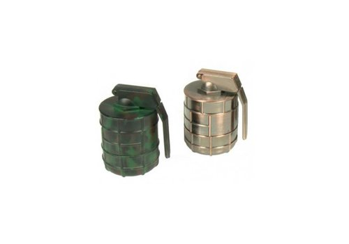 Metalen Grinder | 3 Part 36mm Grenade