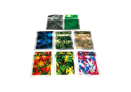 Smell Proof Zip Lock Bags | Camo