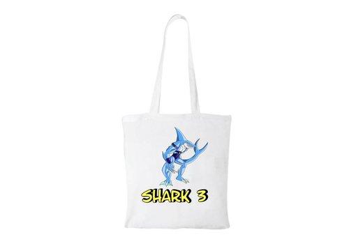 Shark 3  Shark 3 Katoenen Tas