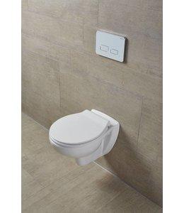 Sanitear EGGE Slim Softclose Toiletbril ,Dun, Afklikbare