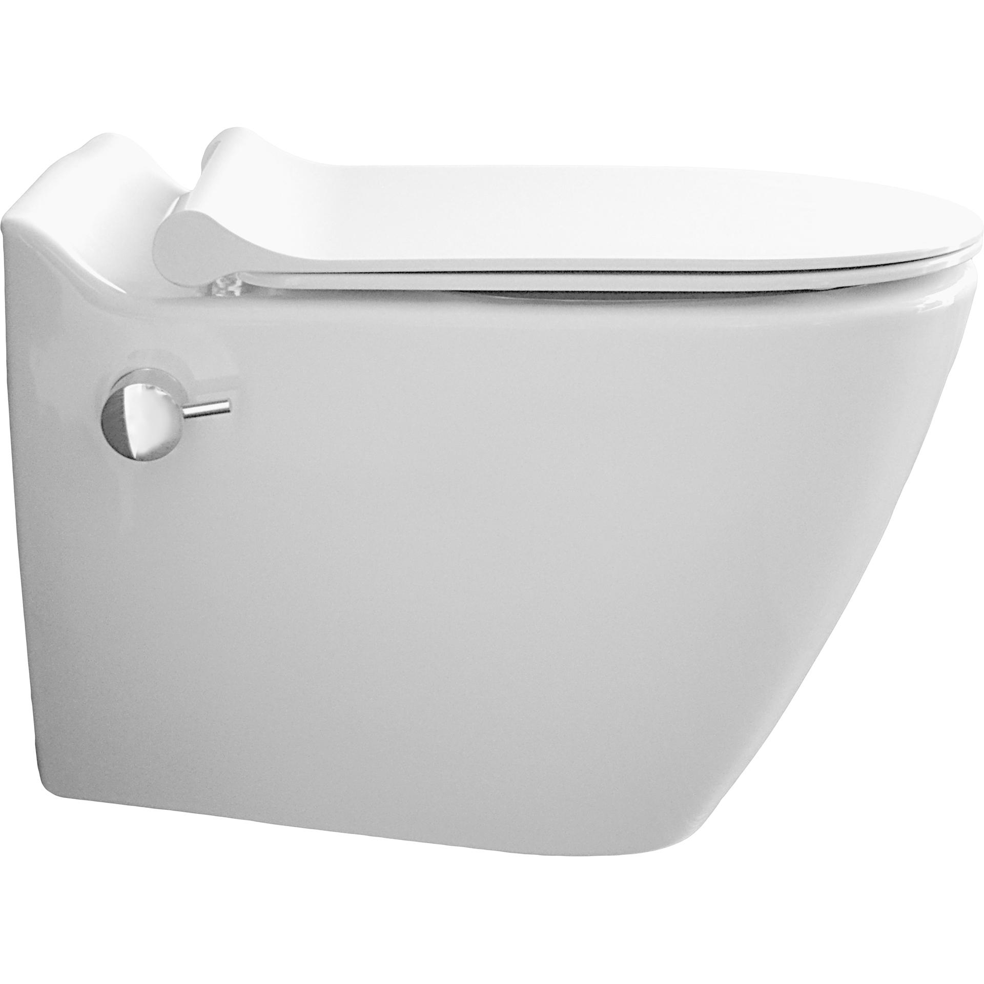 Onwijs WC met bidet, +16 Mooi bidet WC & Vrijhangend WC met bidet - Sanitear OX-84